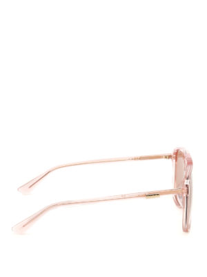 Gucci: sunglasses online - Orange lenses square sunglasses