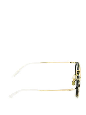 Gucci: sunglasses online - Removable lenses acetate sunglasses