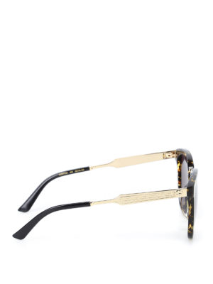 Gucci: sunglasses online - Spotted tortoiseshell sunglasses