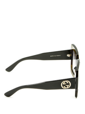 Gucci: sunglasses online - Square acetate sunglasses
