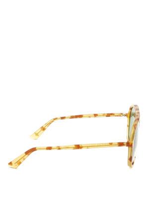 Gucci: sunglasses online - Tortoiseshell acetate sunglasses