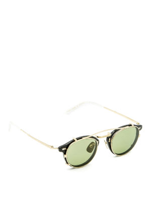 Gucci: sunglasses - Removable lenses acetate sunglasses