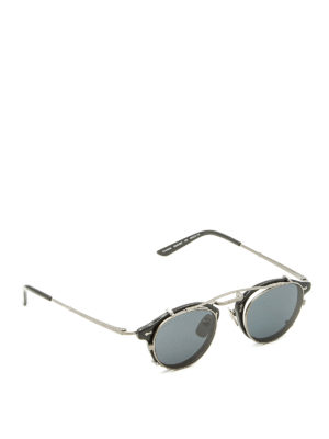 Gucci: sunglasses - Removable sun lenses black glasses