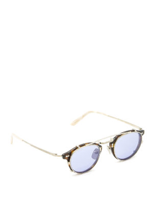 Gucci: sunglasses - Removable sun lenses round glasses