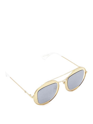 Gucci: sunglasses - Round-frame sunglasses