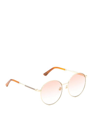 Gucci: sunglasses - Round frame sunglasses