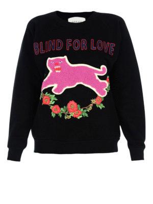 Gucci: Sweatshirts & Sweaters - Blind For Love sweatshirt