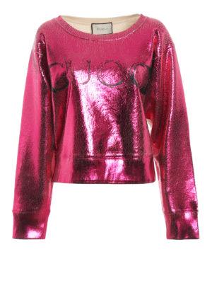 Gucci: Sweatshirts & Sweaters - Coated over sweatshirt