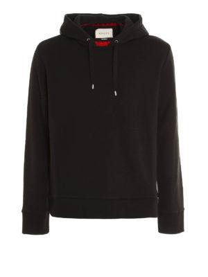 Gucci: Sweatshirts & Sweaters - Knitted Web detail sweatshirt