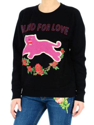 Gucci: Sweatshirts & Sweaters online - Blind For Love sweatshirt