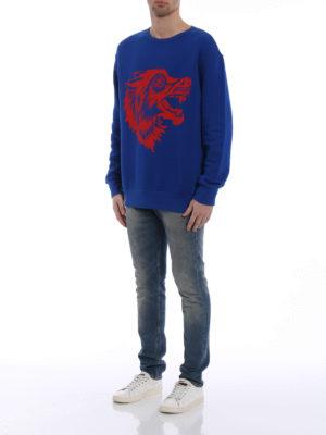 Gucci: Sweatshirts & Sweaters online - Grunge-inspired print sweatshirt