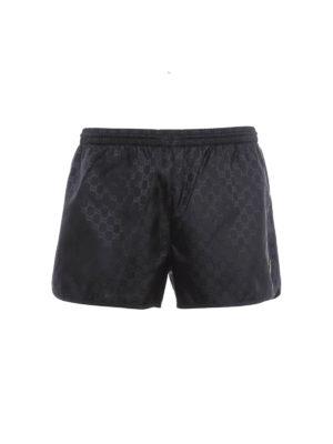 Gucci: Swim shorts & swimming trunks - GG Supreme swim shorts