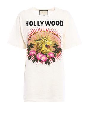 Gucci: t-shirts - Leopard print T-shirt