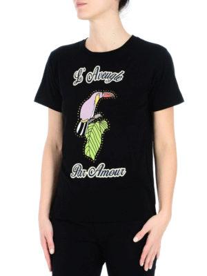 Gucci: t-shirts online - L'Aveugle Par Amour cotton T-shirt