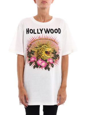 Gucci: t-shirts online - Leopard print T-shirt