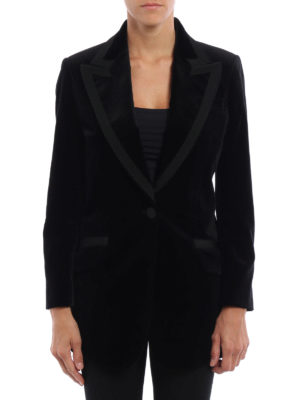 Gucci: Tailored & Dinner online - Angry Cat embroidered velvet jacket