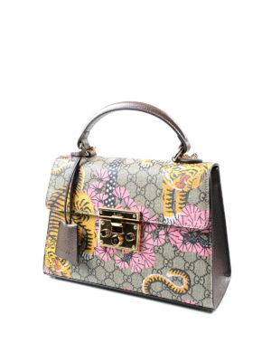 Gucci: totes bags online - Padlock Bengal handbag