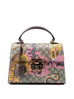 Gucci: totes bags - Padlock Bengal handbag