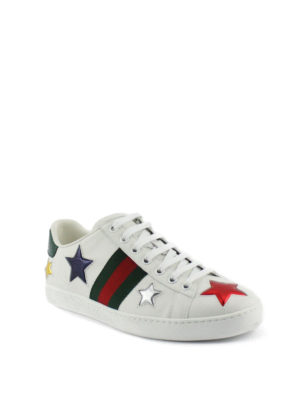 Gucci: trainers online - Ace sneakers