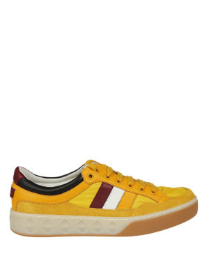 Gucci: trainers - Yellow multi fabric sneakers