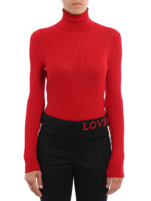 Gucci: Turtlenecks & Polo necks online - Wool and silk slim turtleneck