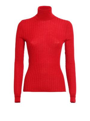 Gucci: Turtlenecks & Polo necks - Wool and silk slim turtleneck