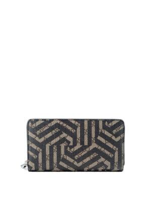 Gucci: wallets & purses - Caleido print GG Supreme wallet