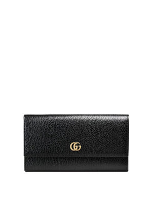 Gucci: wallets & purses - GG Continental leather wallet