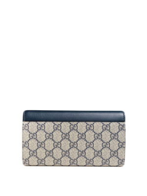 Gucci: wallets & purses online - GG Supreme and leather wallet