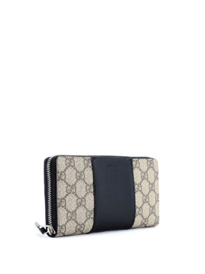 Gucci: wallets & purses online - GG Supreme zip around wallet