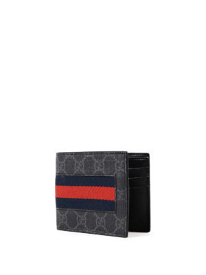 Gucci: wallets & purses online - Sylvie Web GG Supreme card holder