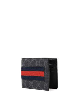 Gucci: wallets & purses online - Sylvie Web GG Supreme card holder