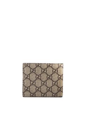 Gucci: wallets & purses online - Tiger print GG Supreme wallet