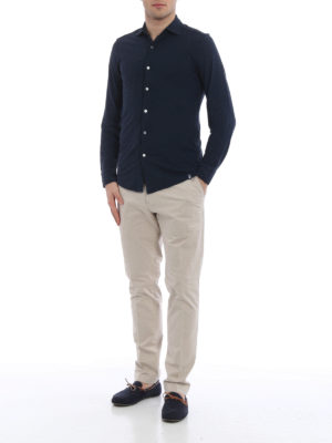 Hackett: casual trousers online - Cotton twill chino trousers
