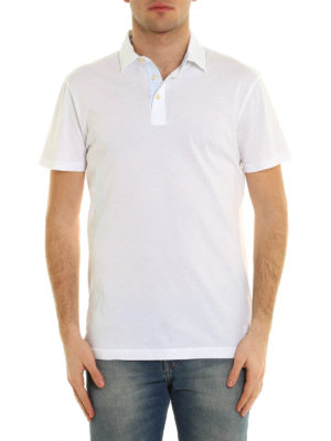 Hackett: polo shirts online - Cotton jersey polo shirt