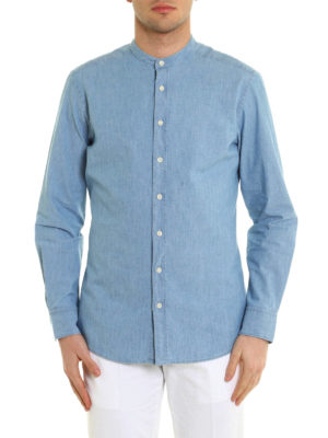 Hackett: shirts online - Cotton denim shirt