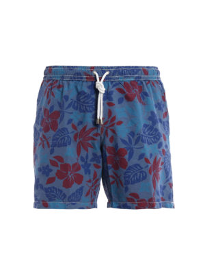 Hartford: Swim shorts & swimming trunks - Floral print swim shorts