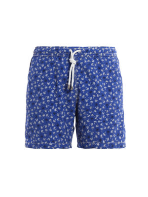 Hartford: Swim shorts & swimming trunks - Palms print swim shorts
