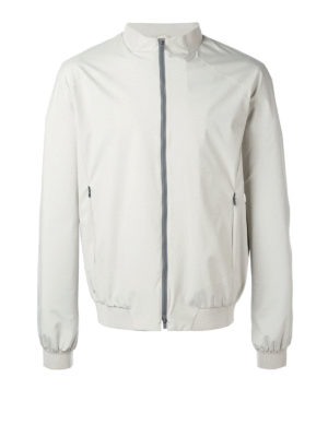 Herno: bombers - Guru collar zipped bomber jacket