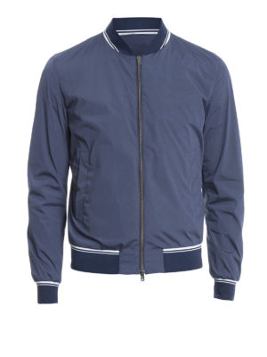Herno: bombers - High-tech fabric bomber jacket