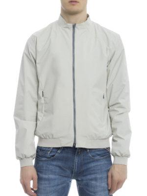 Herno: bombers online - Guru collar zipped bomber jacket
