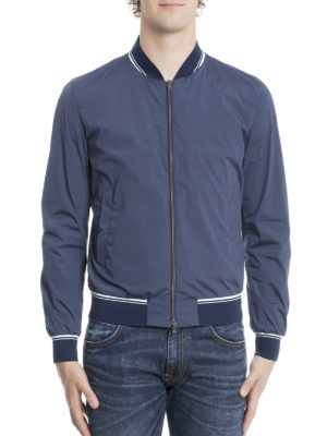 Herno: bombers online - High-tech fabric bomber jacket