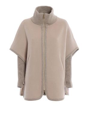 HERNO: Mantelle e poncho - Cappa in panno di lana misto cashmere