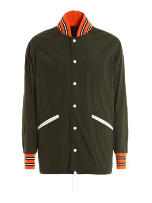 Herno: casual jackets - Contrasting trims nylon jacket