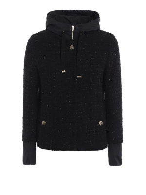 Herno: casual jackets - Double front bouclé jacket
