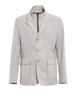 Herno: casual jackets - Double front techno blazer jacket