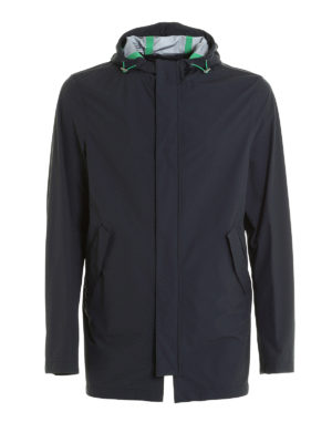 Herno: casual jackets - High-tech fabric windproof jacket