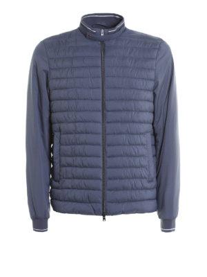 Herno: casual jackets - Matte nylon bomber jacket