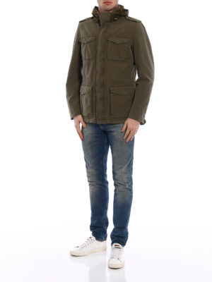 Herno: casual jackets online - Bogart techno cotton field jacket