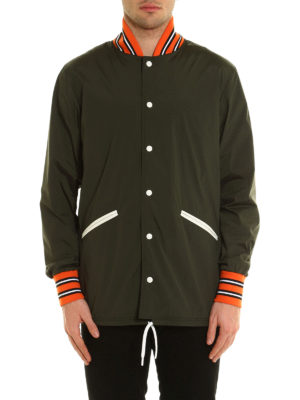 Herno: casual jackets online - Contrasting trims nylon jacket